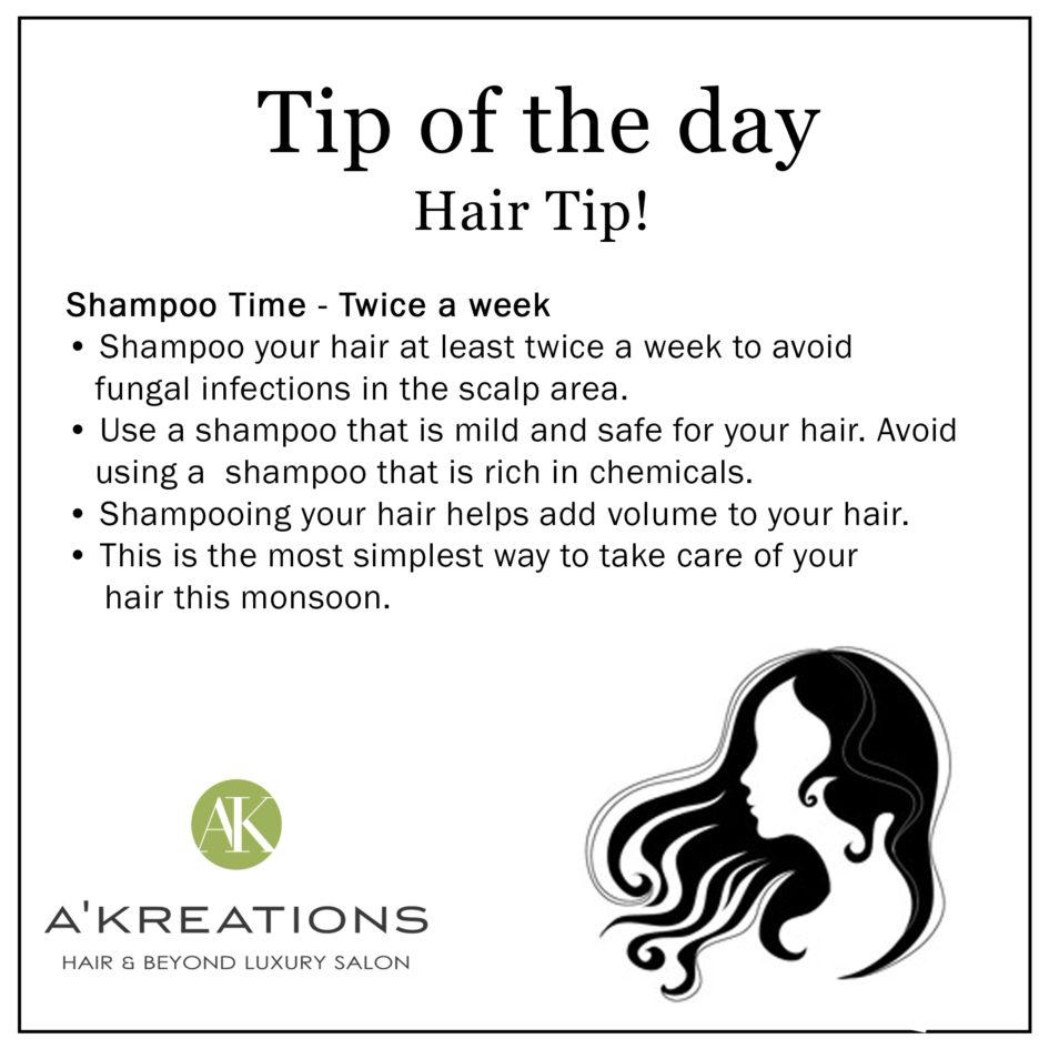 Monsoon Hair Tips for womens
