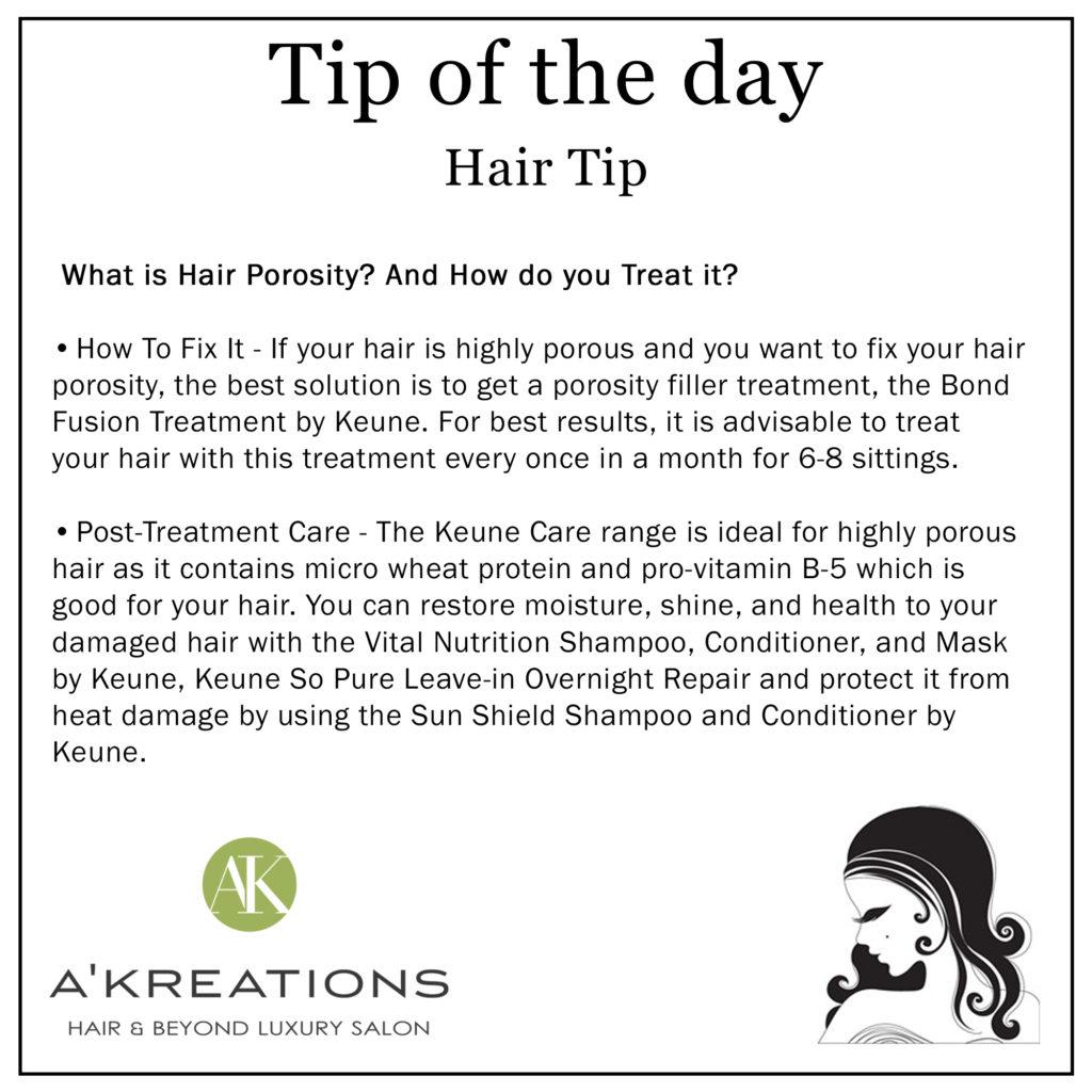 Hair Porosity Tips