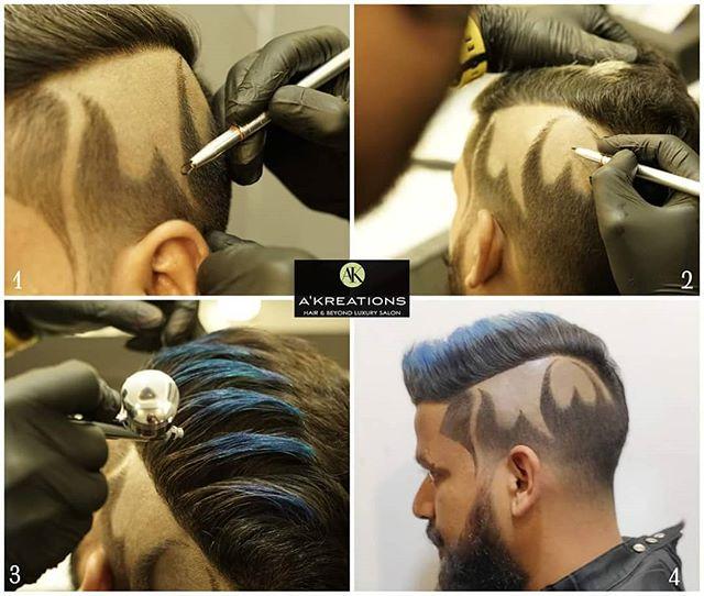 Hair Tattoo Mumbai Akreations