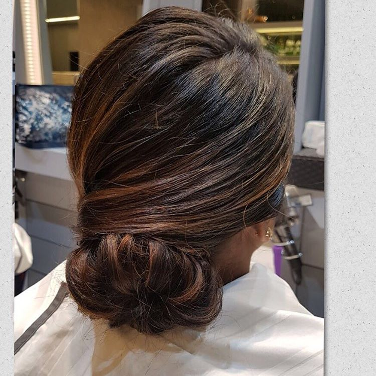 A sleek classy low bun - Hairstyles for Different Occasions