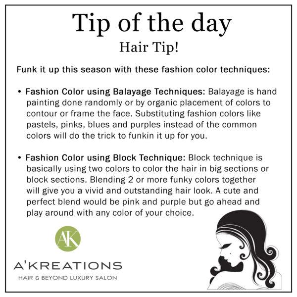 Hair Coloring Technique