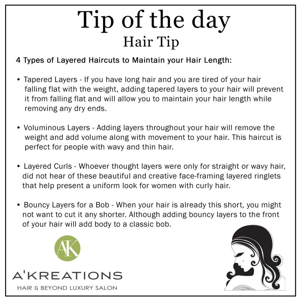 Hair Maintain Tips
