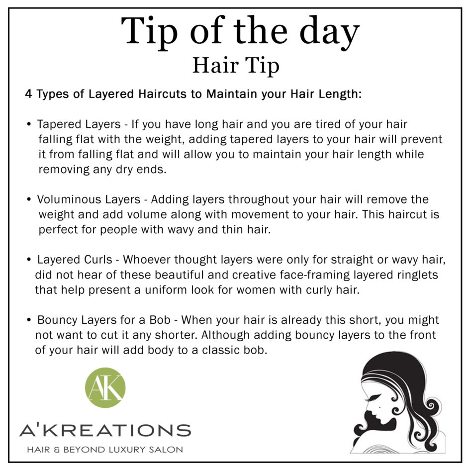 Hair Maintain Tips