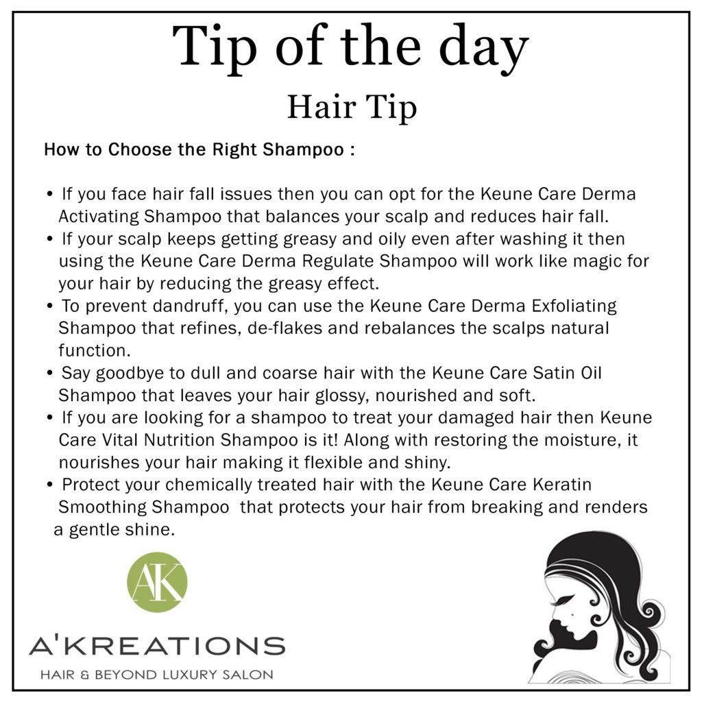 Hair Women tips