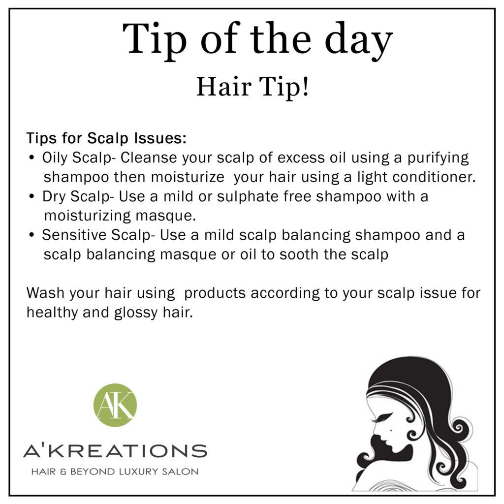 Healthy Scalp Tips