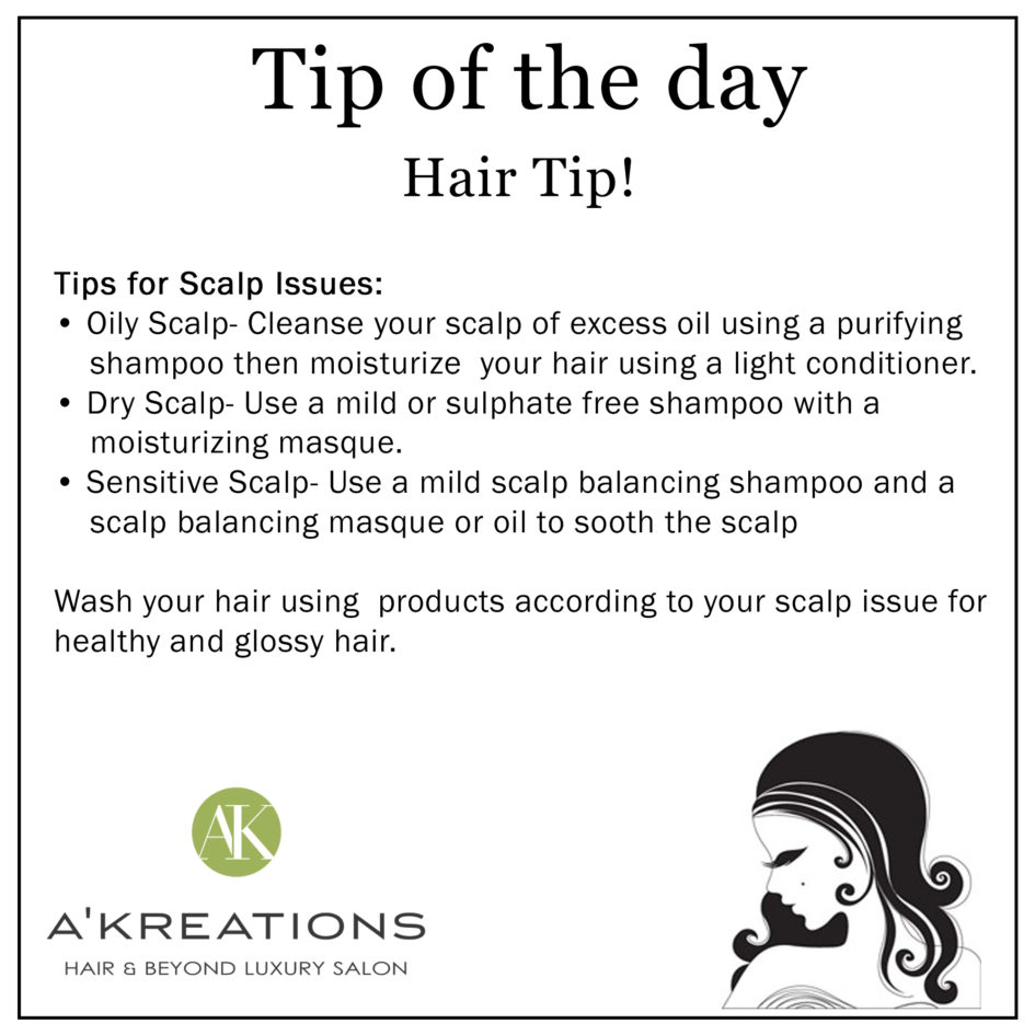 Healthy Scalp Tips