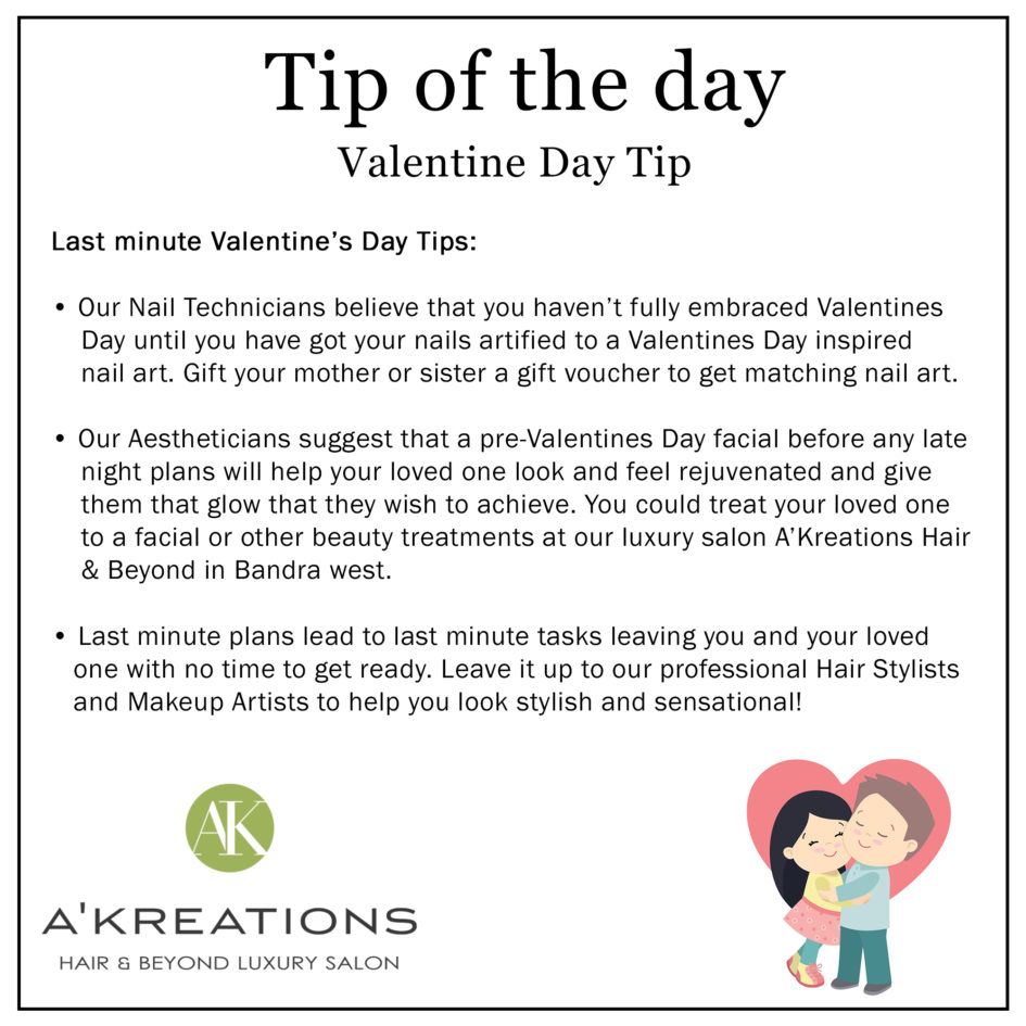 Last Minute Valentine Day Tips