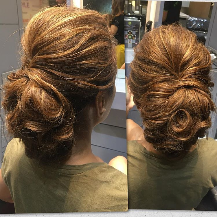 Messy Textured Low Bun - Hairstyles for Different Occasions