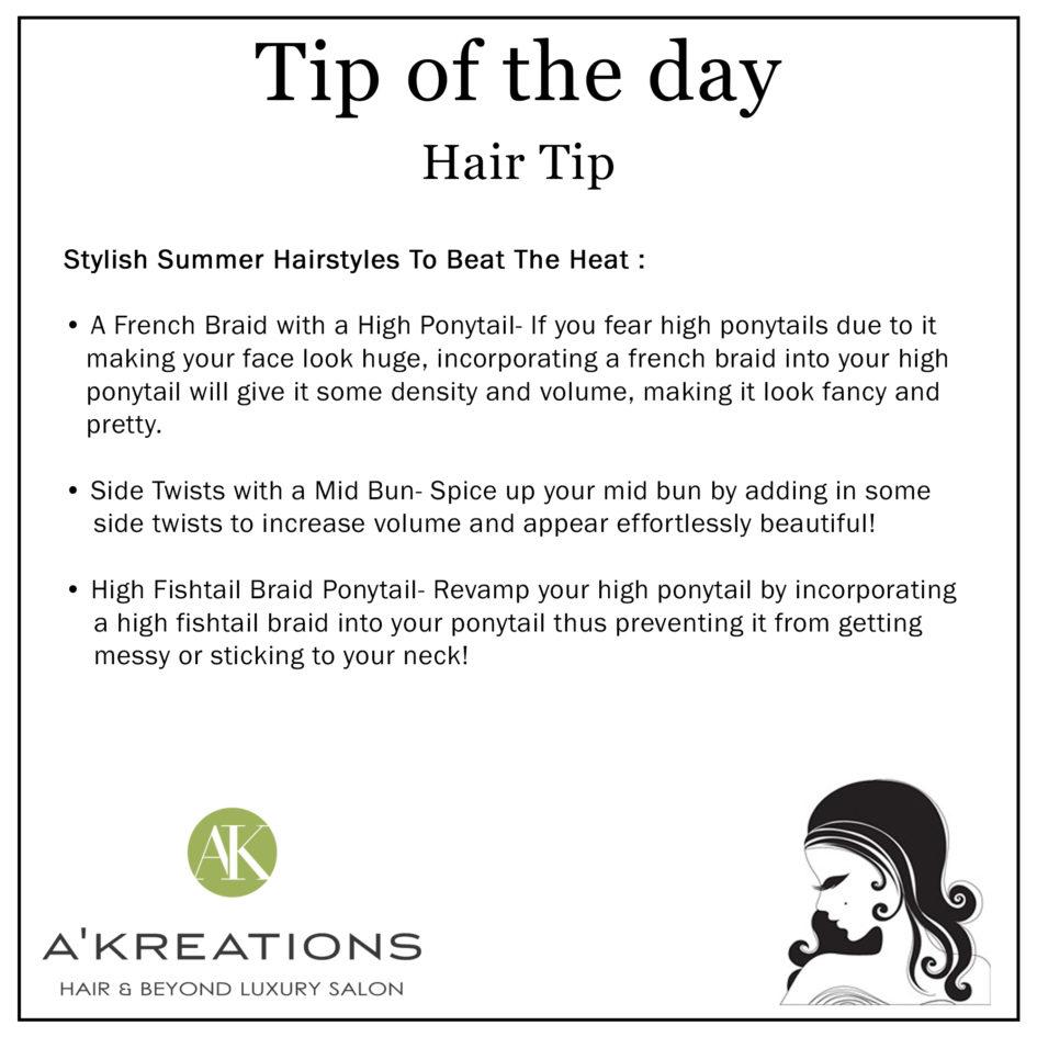 Stylish Summer Hairstyles To Beat The Heat