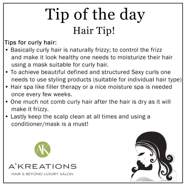 Tips To Maintain Curly Hair