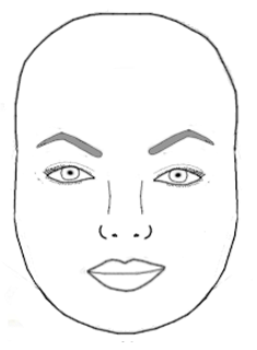 Eyebrow Shapes for Oval Face